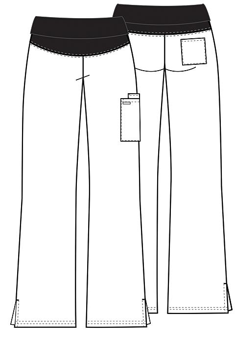 pantaloni medicali maternitate