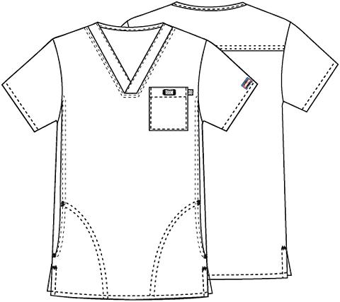 bluza medicala unisex