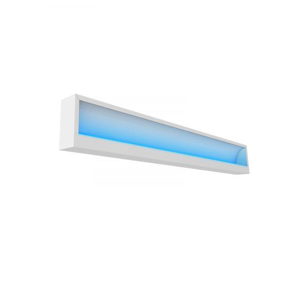 Lampa germicida premium, cu senzor miscare si timer, prindere tavan