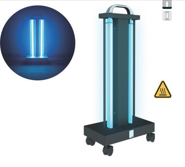 Lampa sterilizare UV 110w cu roti