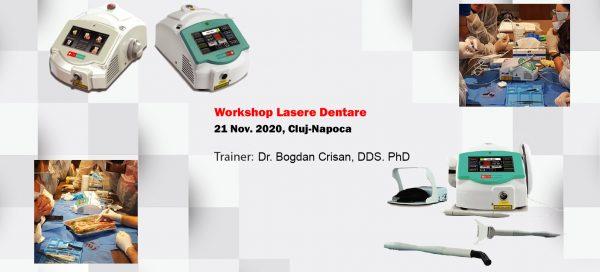 Workshop complet lasere stomatologice