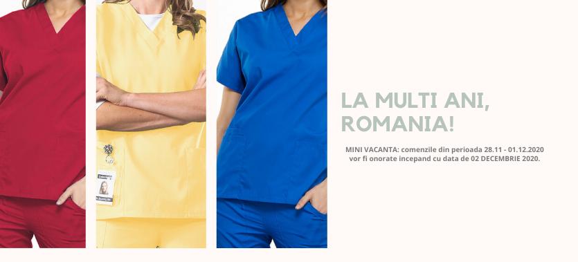 uniforma medicala romania