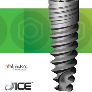 Implant dentar AlphaBio ICE, cu hexagon intern