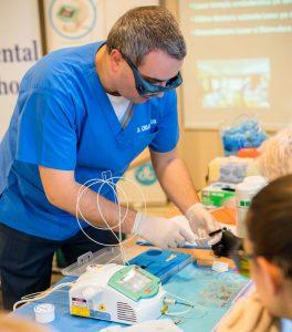 Workshop lasere dentare - albire pe dinti extrasi 2